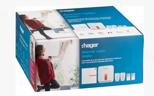 HAGER RLP305F - PACK SECURITE 4 GROUPES